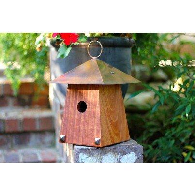 Heartwood Avian Bungalow Birdhouse - Mahogany  by Heartwood