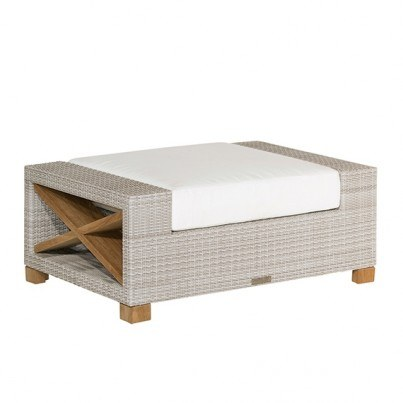 Kingsley Bate Jupiter Deep Seating Ottoman Cushion  by Kingsley Bate