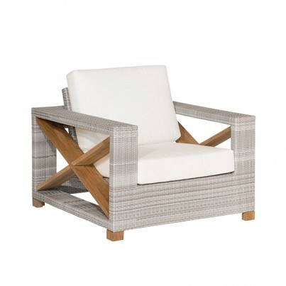 Kingsley Bate Jupiter and Frances Deep Seating Lounge Chair Cushion  by Kingsley Bate