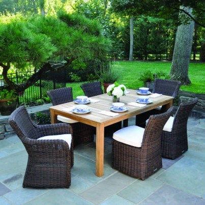 Kingsley Bate Wainscott and Culebra Teak Dining Collection - Build Your Own Ensemble  by Kingsley Bate