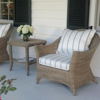Kingsley Bate Cape Cod Wicker Deep Seating Collection - Build Your Own Ensemble  by Kingsley Bate