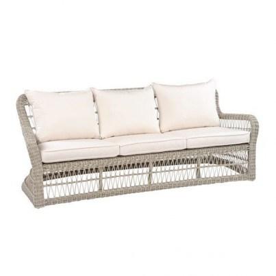 Kingsley Bate Southampton Wicker Deep Seating Sofa  by Kingsley Bate