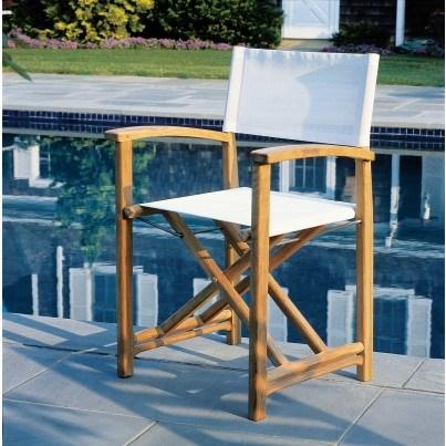 Kingsley Bate Capri Teak Director's Chair  by Kingsley Bate