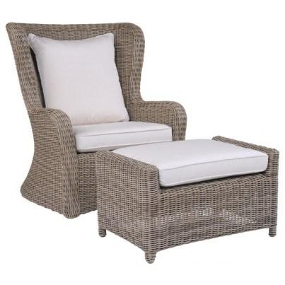 Kingsley Bate Sag Harbor Deep Seating High-Back Lounge Chair Seat & Back Cushion  by Kingsley Bate