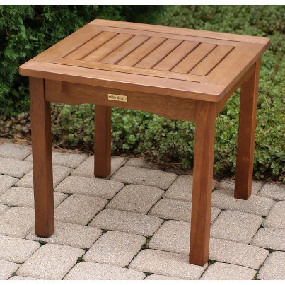 Outdoor Interiors Eucalyptus End Table  by Outdoor Interiors