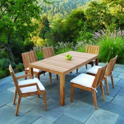 Kingsley Bate Mendocino Teak Dining Armchair  by Kingsley Bate