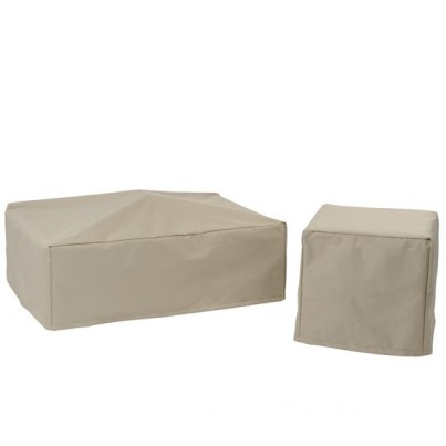 Kingsley Bate Cape Cod Deep Seating Ottoman Cover  by Kingsley Bate
