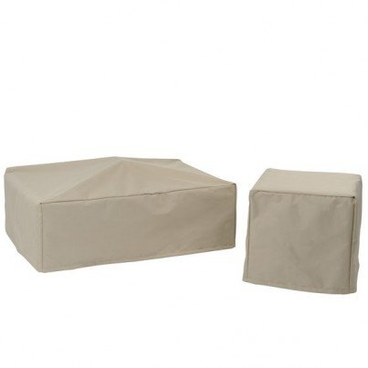 Kingsley Bate Sag Harbor and Southampton Rectangular Coffee Table Cover  by Kingsley Bate