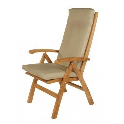 Ascot Folding Highback Recliner Chair 1ASR