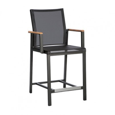 Barlow Tyrie Aura Aluminum Counter Dining Chair  by Barlow Tyrie