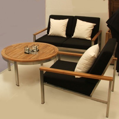 Barlow Tyrie Equinox 3pc Seating Ensemble  by Barlow Tyrie