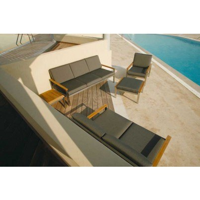Barlow Tyrie Equinox Deep Seating Stainless Steel Collection  by Barlow Tyrie