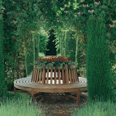 Tree Seats Garden Furniture Round Barlow Tyrie Glenham Teak Circular Tree Seat price Per Half Paynes Custard Frontera Outdoor Benches Outdoor Furniture Outdoor