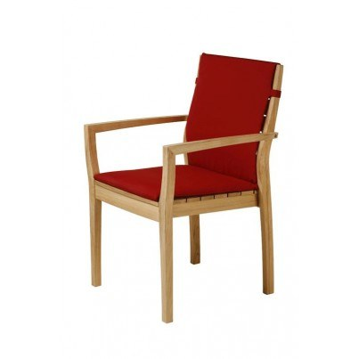 Barlow Tyrie Horizon Stacking Armchair Seat Cushion Only  by Barlow Tyrie
