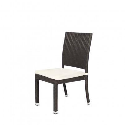 Source Outdoor Zen Wicker Dining Side Chair   by Source Outdoor