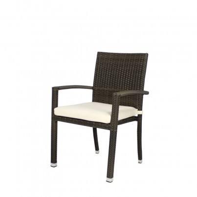 Source Outdoor Zen Wicker Dining Arm Chair   by Source Outdoor