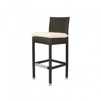 Source Outdoor Zen Wicker Bar Side Chair   by Source Outdoor