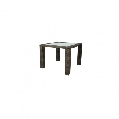 Source Outdoor Zen Wicker Dining Table - Seats 4 Square  by Source Outdoor
