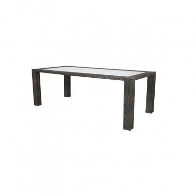Source Outdoor Zen Wicker Dining Table - Seats 6 Rectangular  by Source Outdoor