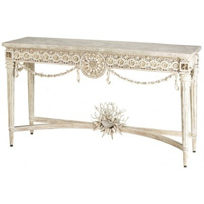 Currey & Company Devereux Console Table  by Currey & Company