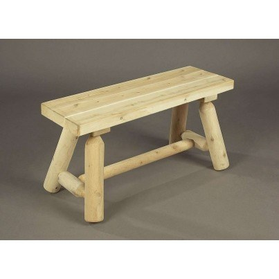 Rustic Natural Cedar 3' Bench  by Rustic Natural Cedar