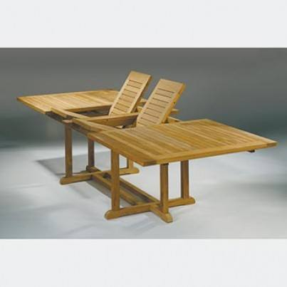 Barlow Tyrie Arundel Teak Extending  Dining Table  by Barlow Tyrie