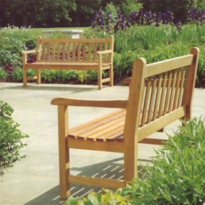 Barlow Tyrie Felsted Teak 5' Bench  by Barlow Tyrie