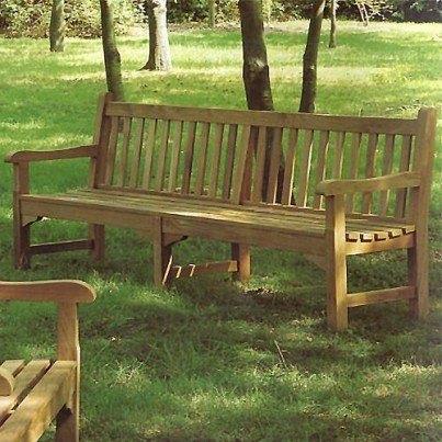 Barlow Tyrie Glenham Teak 8' Bench  by Barlow Tyrie