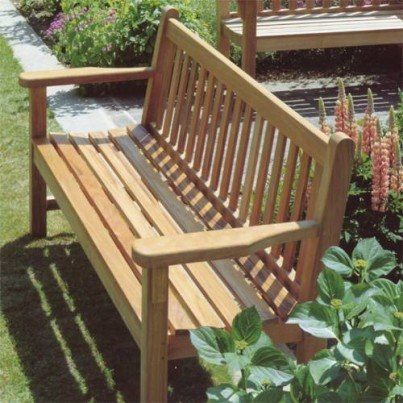 Barlow Tyrie London Teak 6' Bench  by Barlow Tyrie