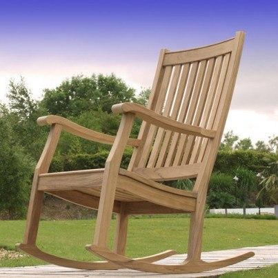 Newport Teak Outdoor Rocking Chair