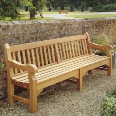 Barlow Tyrie Rothesay Teak 8' Bench  by Barlow Tyrie