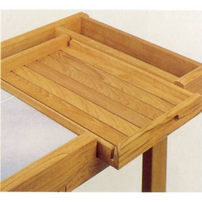 Barlow Tyrie Teak Serving Tray  by Barlow Tyrie