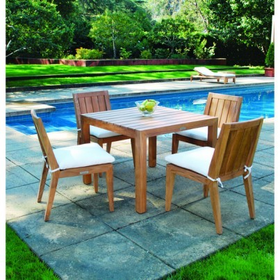 Kingsley Bate Mendocino Teak Dining Collection - Build Your Own Ensemble  by Kingsley Bate