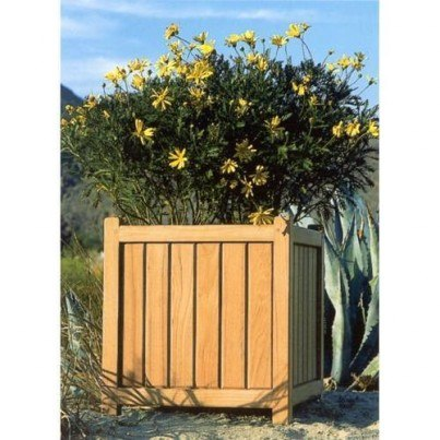 Brookside Teak Planter Medium