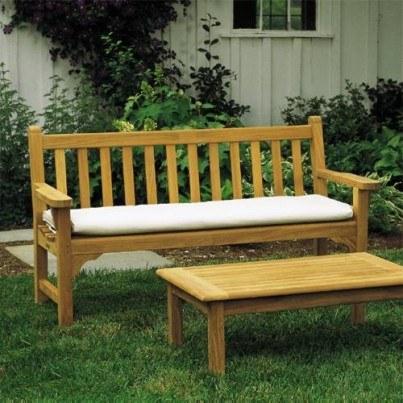 Dunbarton 4' Teak Bench