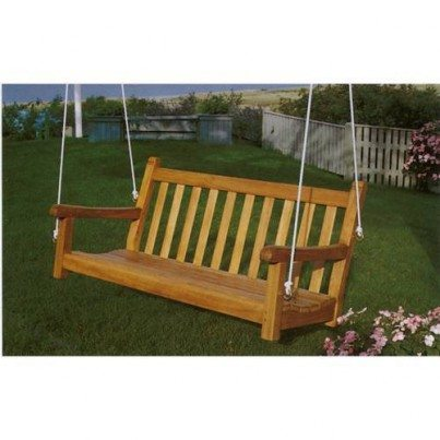 Kingsley Bate St. George Teak 4' Porch Swing  by Kingsley Bate