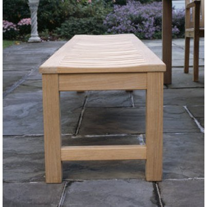 Kingsley Bate WaverleyTeak 5' Backless Bench  by Kingsley Bate