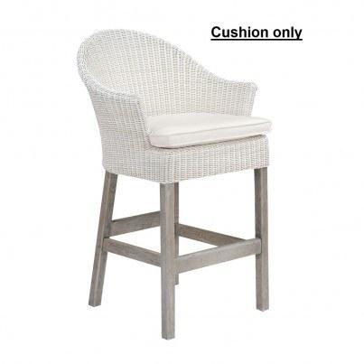 Kingsley Bate Cape Cod Bar Chair Cushion  by Kingsley Bate