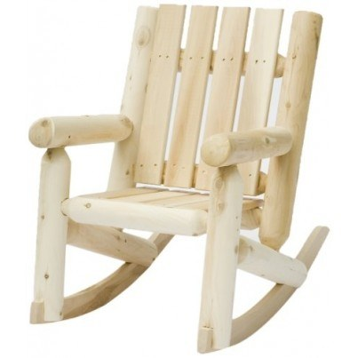 Rustic Natural Cedar Junior Rocking Chair  by Rustic Natural Cedar