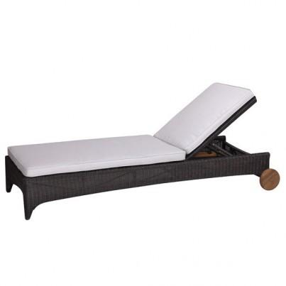 Kingsley Bate Culebra Wicker Chaise Lounge  by Kingsley Bate