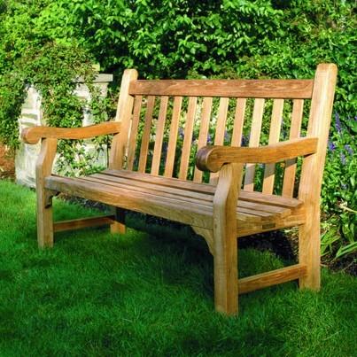 Hyde Park Teak 4' Bench