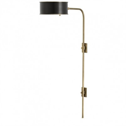 Currey & Company Overture Brass Wall Lamp  by Currey & Company