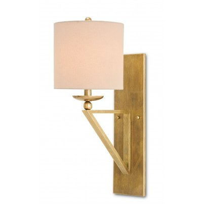 Currey & Company Anthology Brass Wall Sconce  by Currey & Company