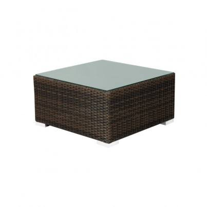 Source Outdoor Manhattan Wicker Coffee Table - Square  by Source Outdoor