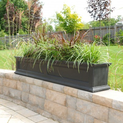 Mayne Fairfield Window Box and Planter Collection  by Mayne