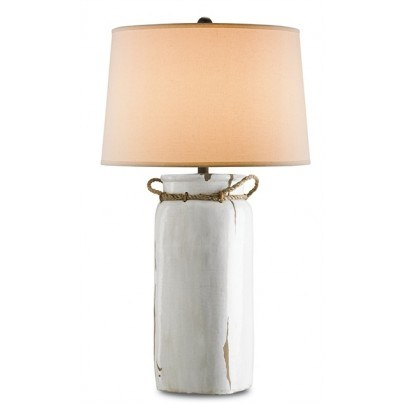 Currey & Company Sailaway Terracotta Table Lamp  by Currey & Company