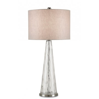 Currey & Company Hydra Glass/Metal Table Lamp  by Currey & Company