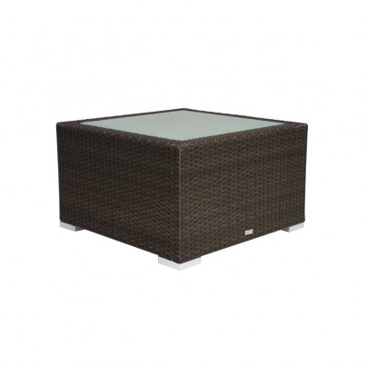Source Outdoor Lucaya Wicker Coffee Table - Square  by Source Outdoor