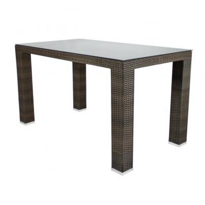 Source Outdoor St. Tropez Wicker Bar Table - Seats 6  by Source Outdoor