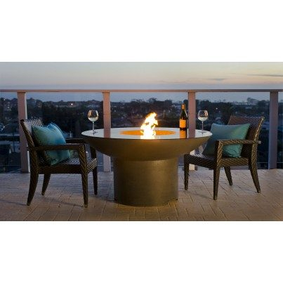 Lotus Dining Fire Pit Table  by CGProducts